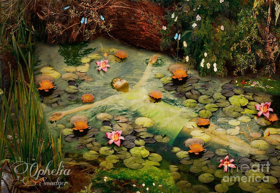 Ophelia Digital Art - Ophelia by Eugene James