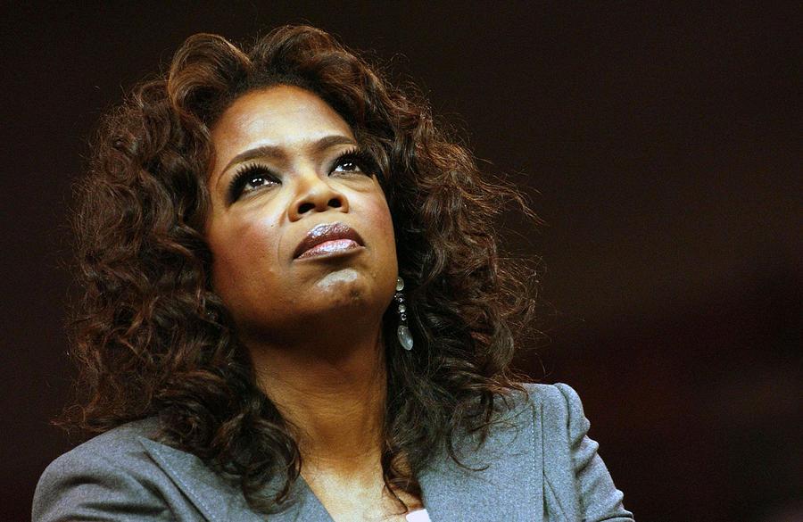 Oprah Winfrey In Attendance For Barack Photograph