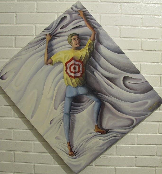 Opressao Painting - Opressao by Vagner Queiroz
