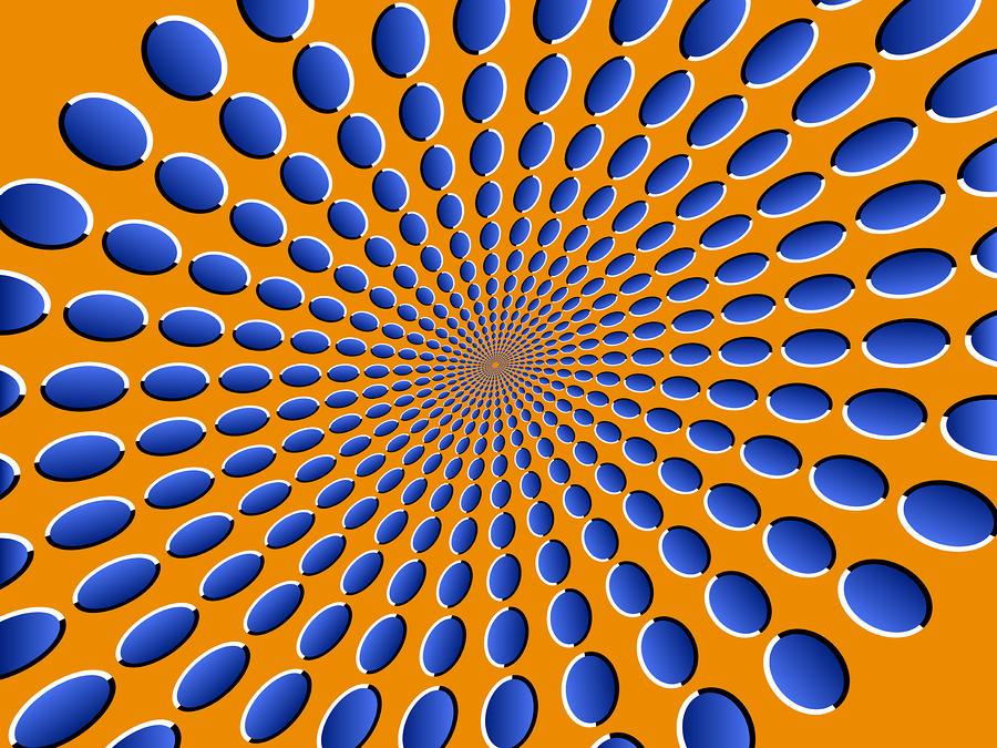 Optical Illusion Pods Digital Art