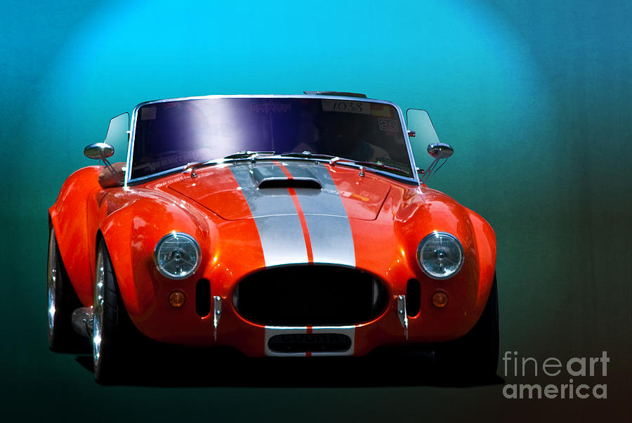 Ford Photograph - Orange Cobra by Stuart Row