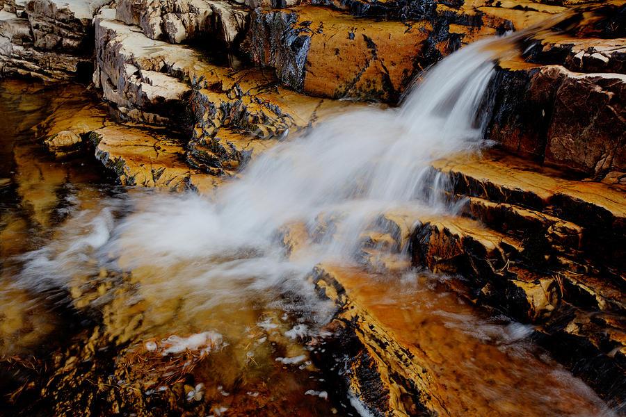 Orange Falls Photograph