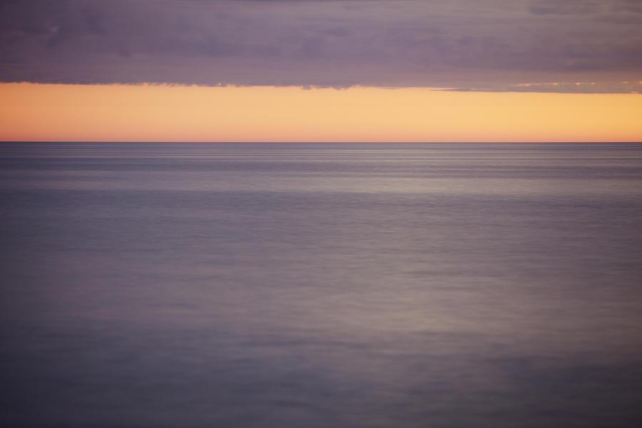Orange Sky Photograph