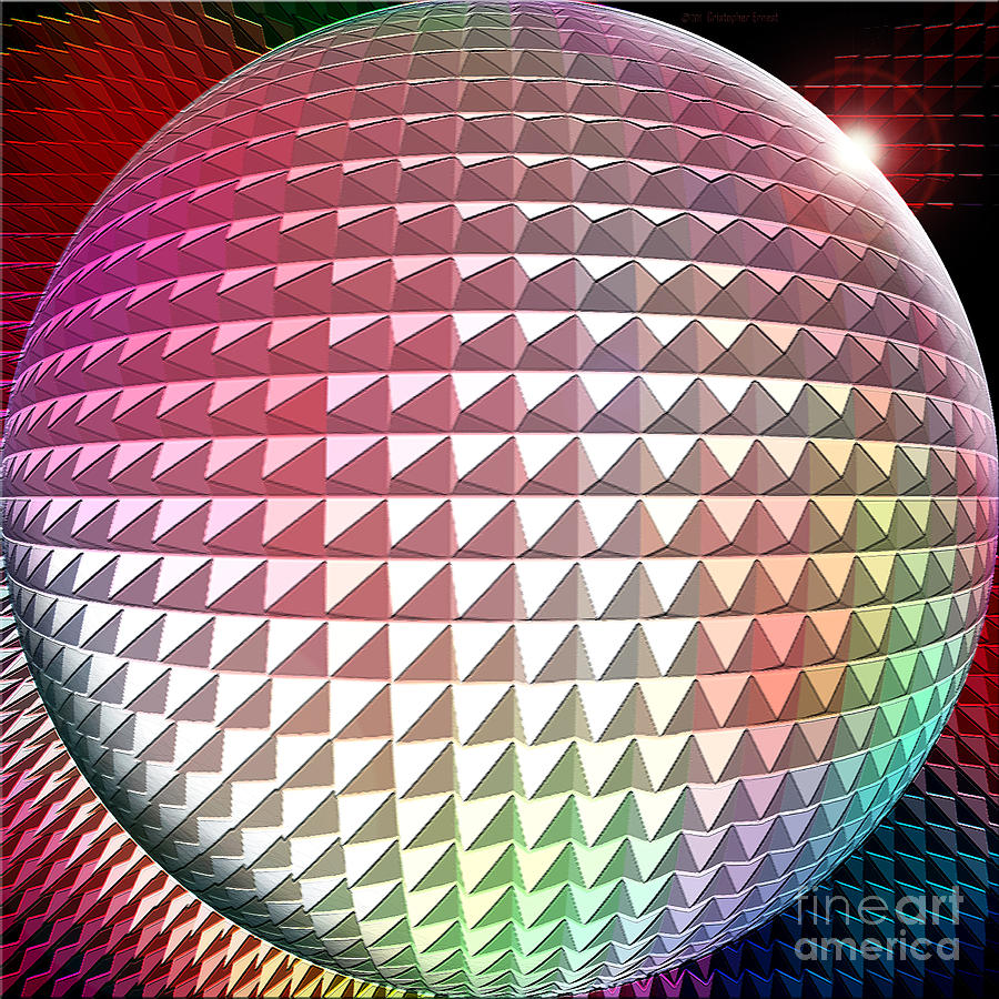 Orb It Digital Art