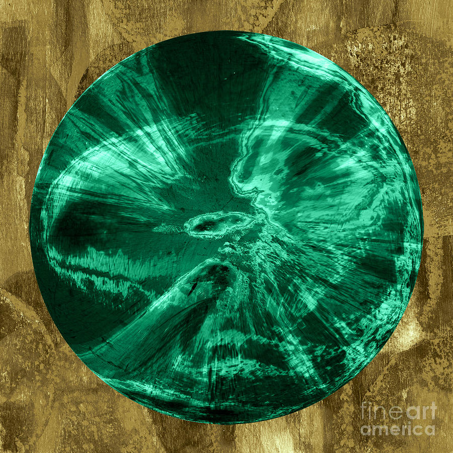 Orb Number Three Digital Art  - Orb Number Three Fine Art Print