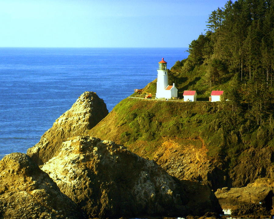 Oregan Lighthouse Photograph