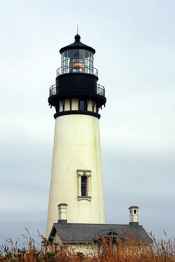 Oregon Coast Lighthouses - Yaquina Head Lighthouse Photograph  - Oregon Coast Lighthouses - Yaquina Head Lighthouse Fine Art Print