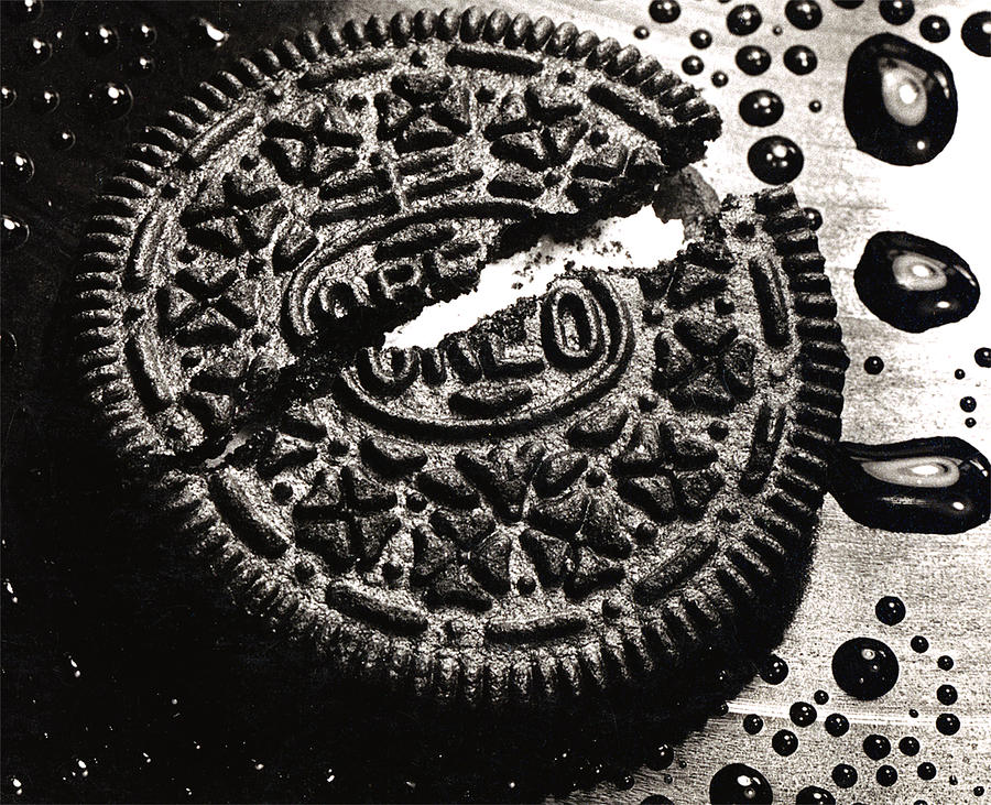 Oreo Cookie Photograph  - Oreo Cookie Fine Art Print