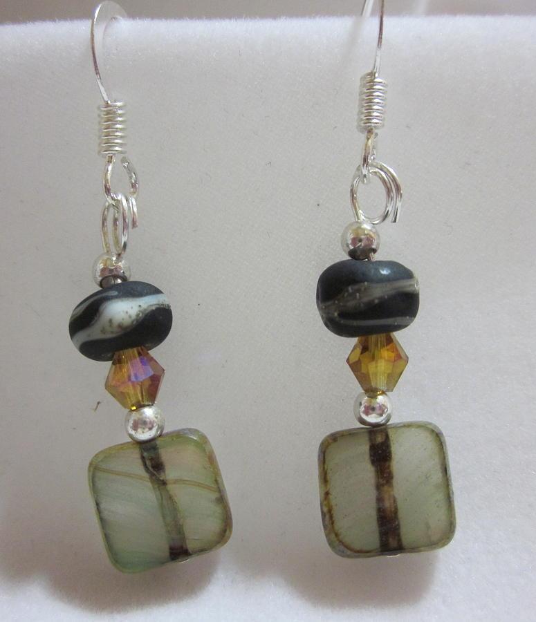 Organic Earth Tone Earrings Jewelry