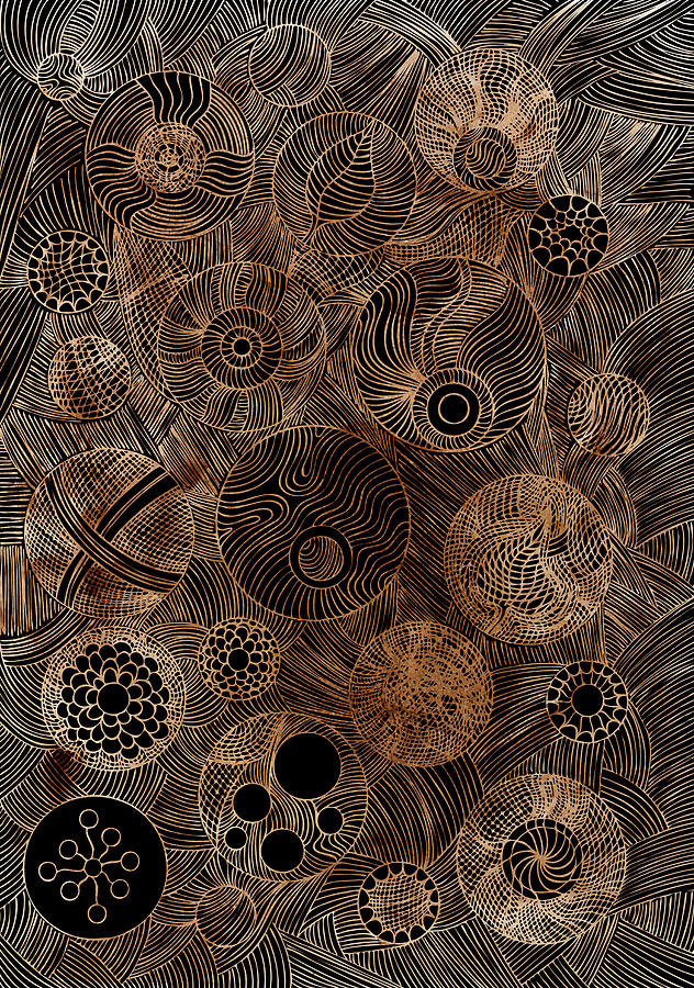 Organic Forms Painting
