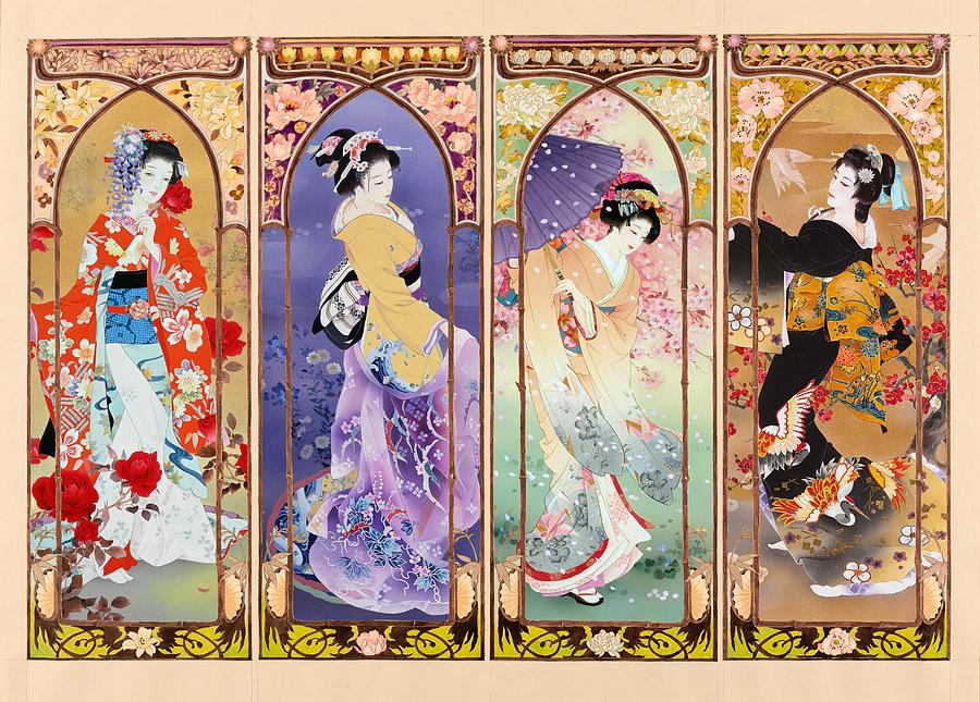 Oriental Gate Multi-pic Photograph