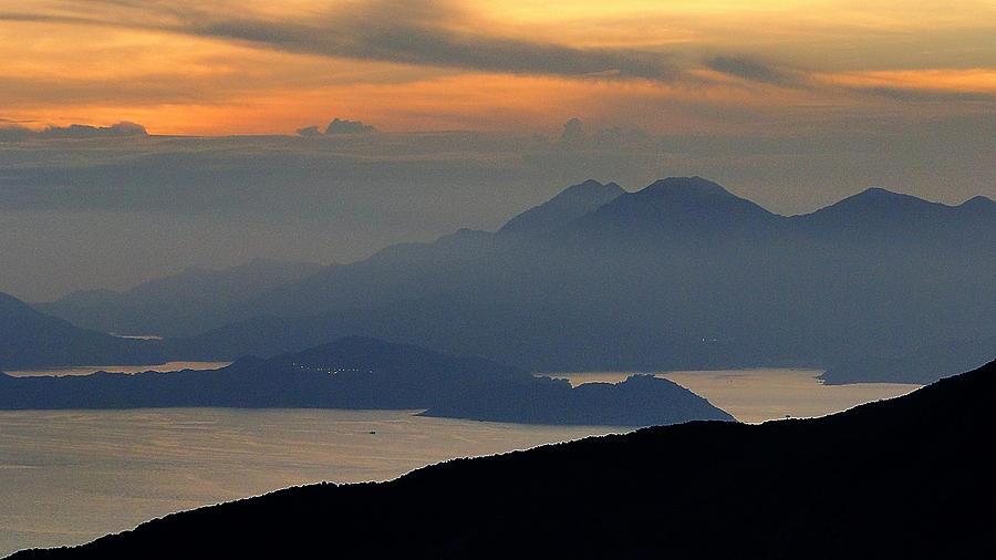 Oriental Sunset Photograph