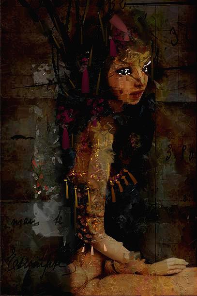 Orients  Digital Art - Orients Marvels by Velitchka Sander