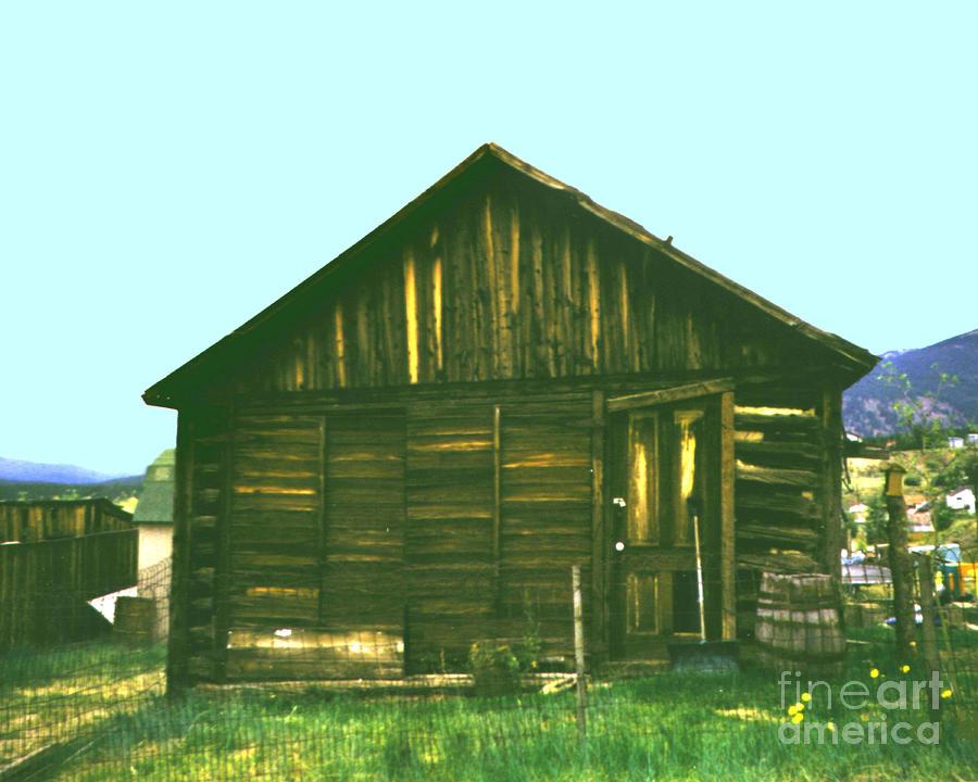 Original miners cabin frisco colorado photograph by merton for Cabins in frisco colorado