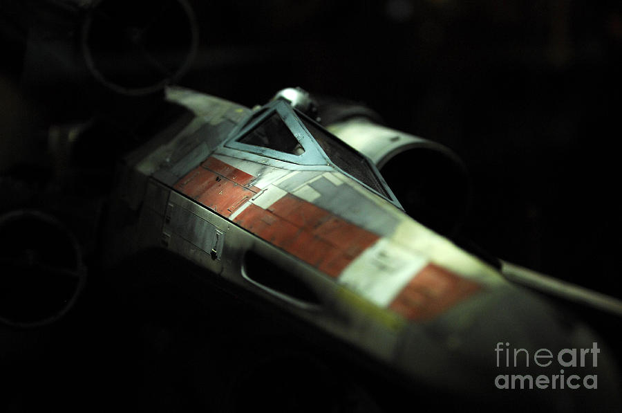 Original X-wing Photograph  - Original X-wing Fine Art Print