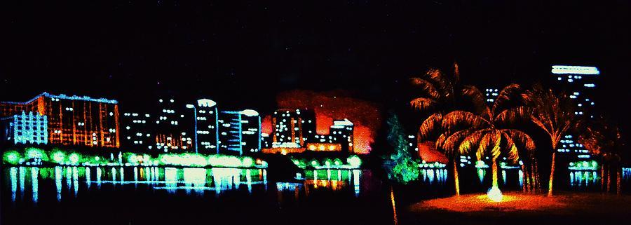 Orlando In Black Light Painting