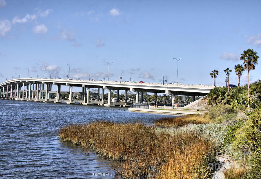 Ormond Beach Bridge Photograph