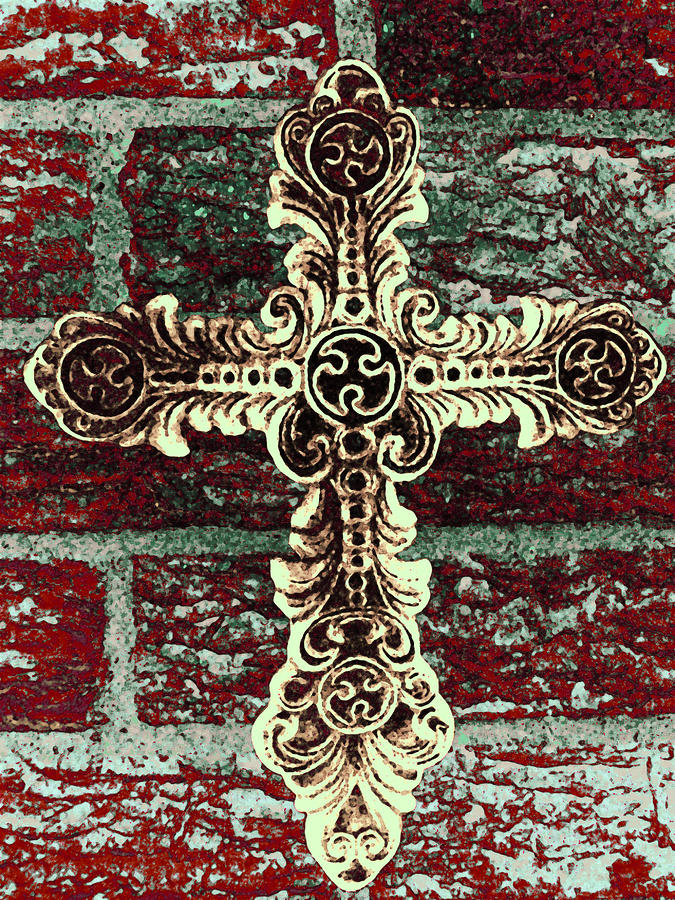 Ornate Cross 1 Photograph  - Ornate Cross 1 Fine Art Print