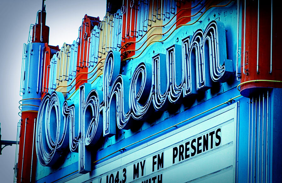 Orpheum Theater Photograph  - Orpheum Theater Fine Art Print
