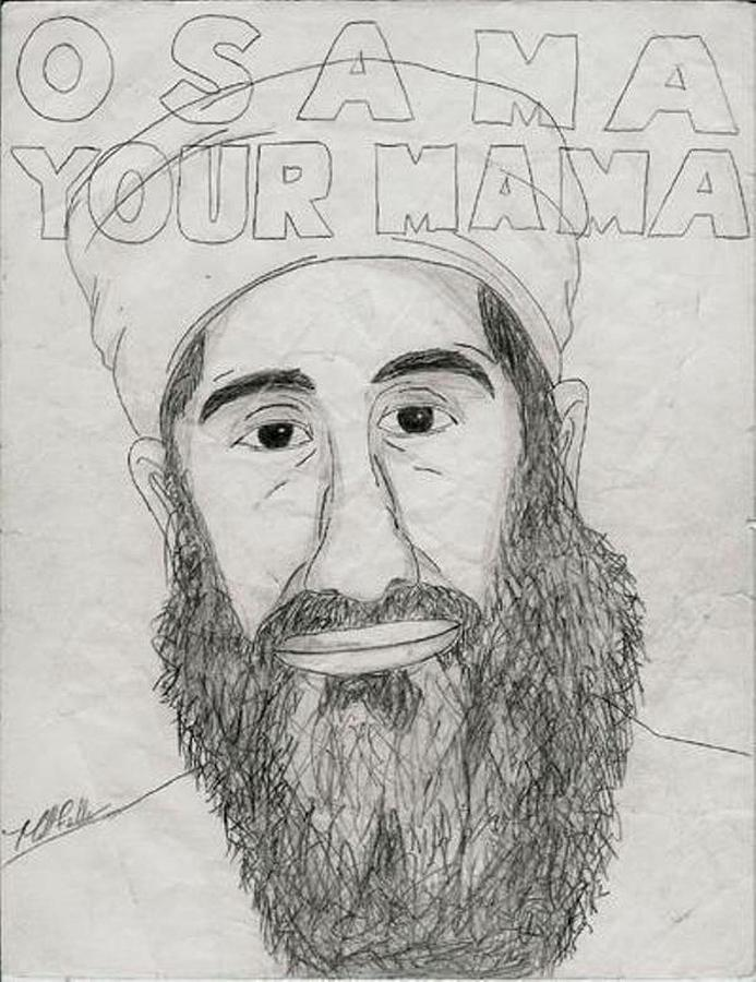 Osama Your Mama Painting  - Osama Your Mama Fine Art Print