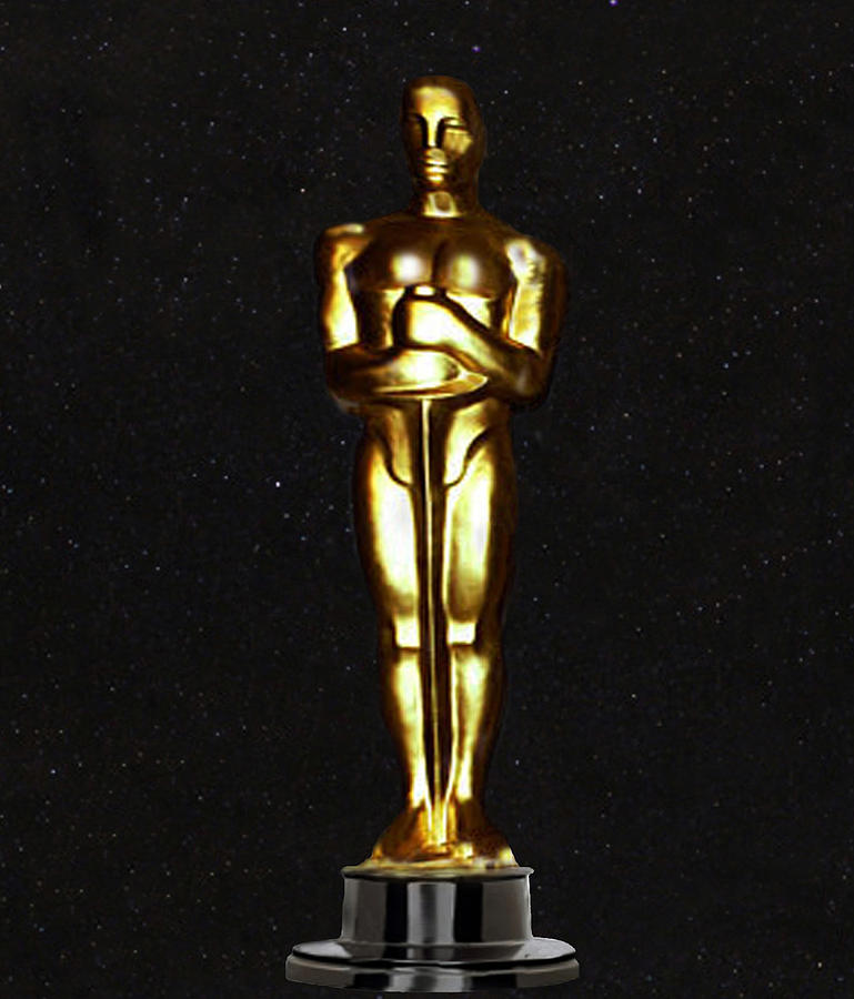 Oscars  Digital Art  - Oscars  Fine Art Print