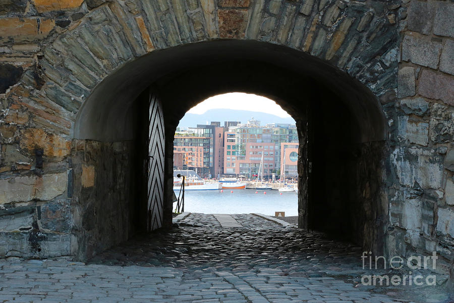 Oslo Castle Archway Photograph