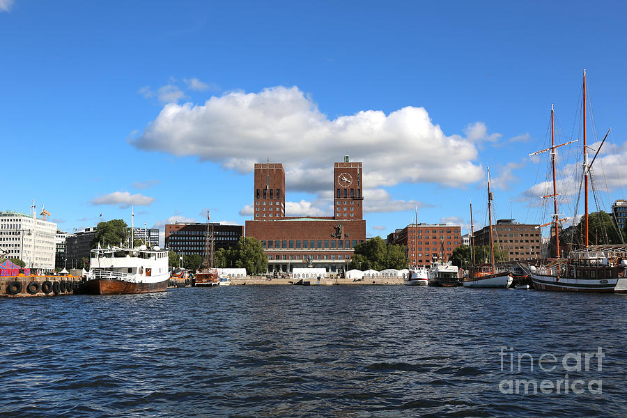 Oslo Harbor Photograph