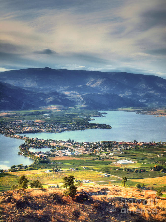 Osoyoos Lake 2 Photograph  - Osoyoos Lake 2 Fine Art Print