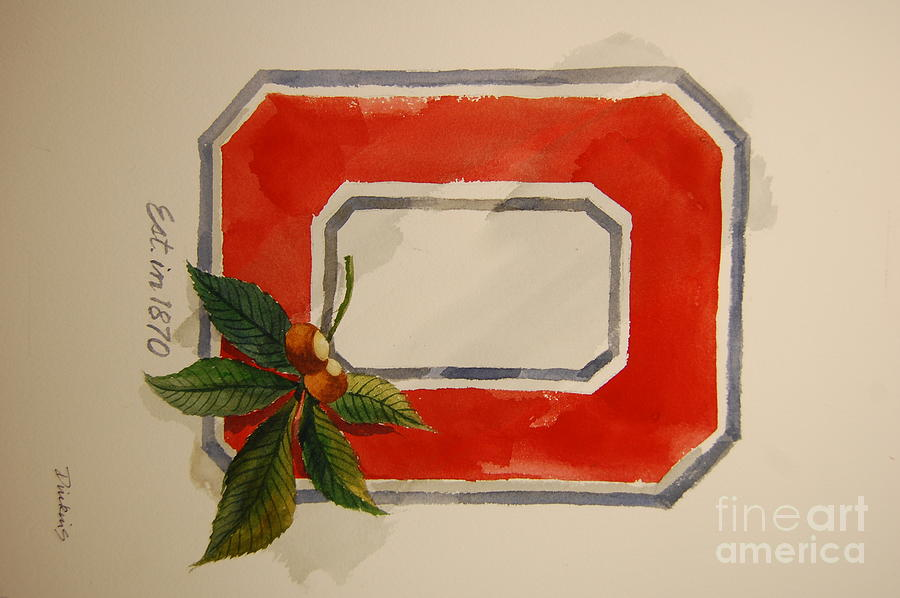 Osu Block O Painting