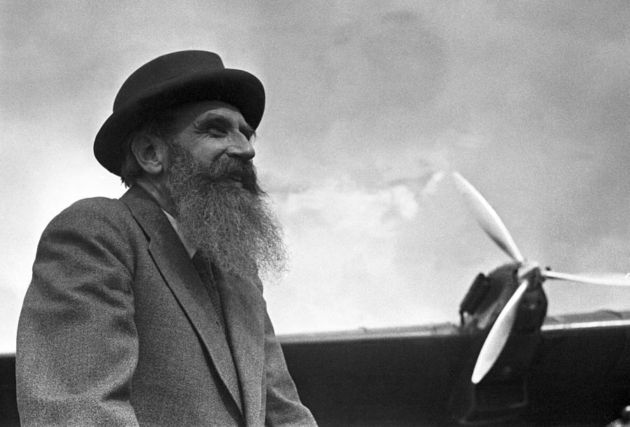 Otto Schmidt, Soviet Arctic Explorer Photograph