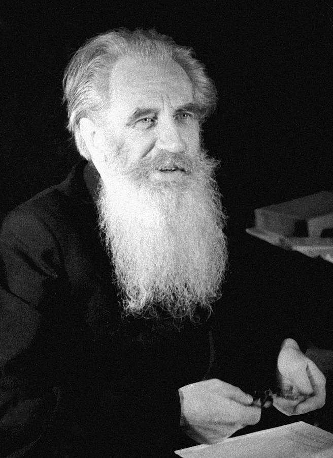 Otto Schmidt, Soviet Geophysicist Photograph