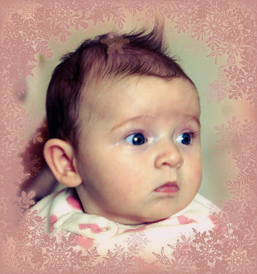 Baby Photograph - Our Ruby by Jacqui Kilcoyne
