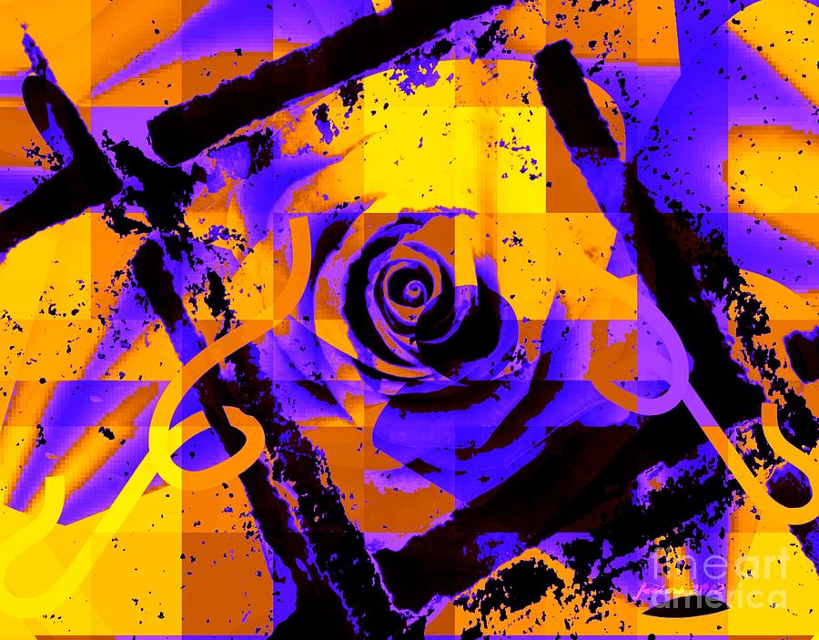 Out Of The Box Expression Mixed Media  - Out Of The Box Expression Fine Art Print