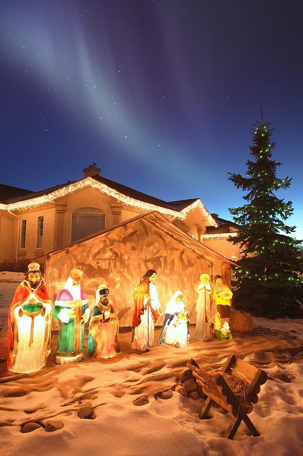 Outdoor Nativity Scenes | Beautiful Scenery Photography