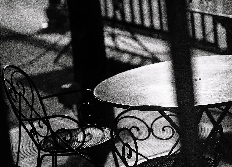 Outdoor Seating Photograph