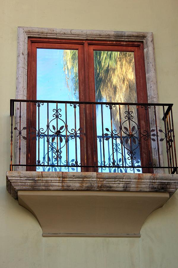Balcony Photograph - Outer Reflection by Leigh Meredith