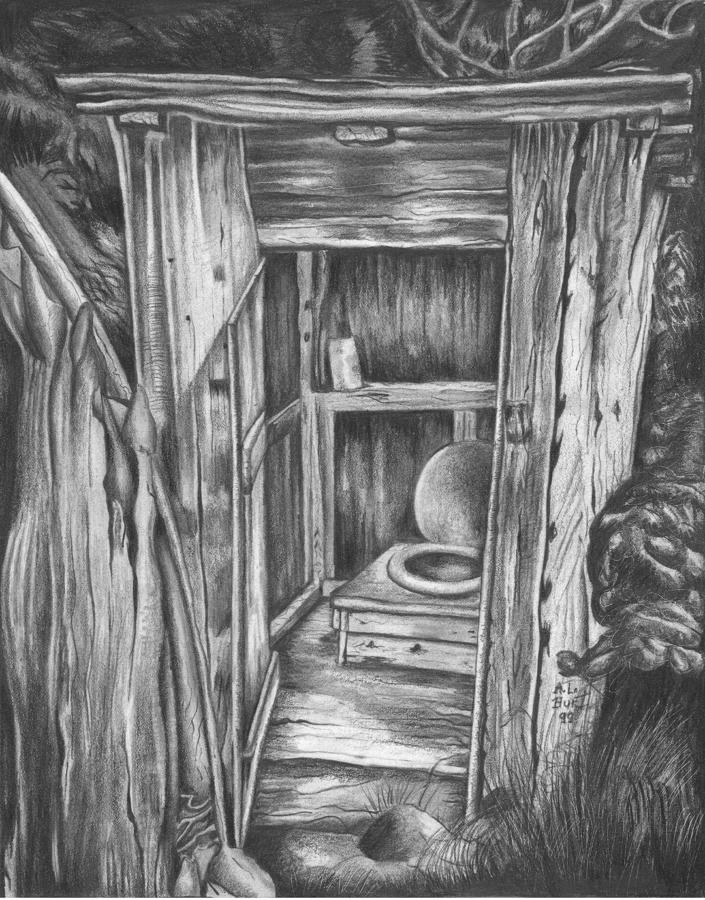 Outhouse Drawings
