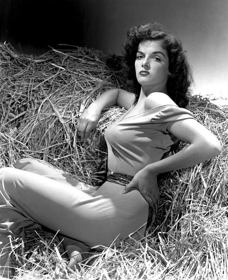 Outlaw, Jane Russell, Photo By George Photograph  - Outlaw, Jane Russell, Photo By George Fine Art Print