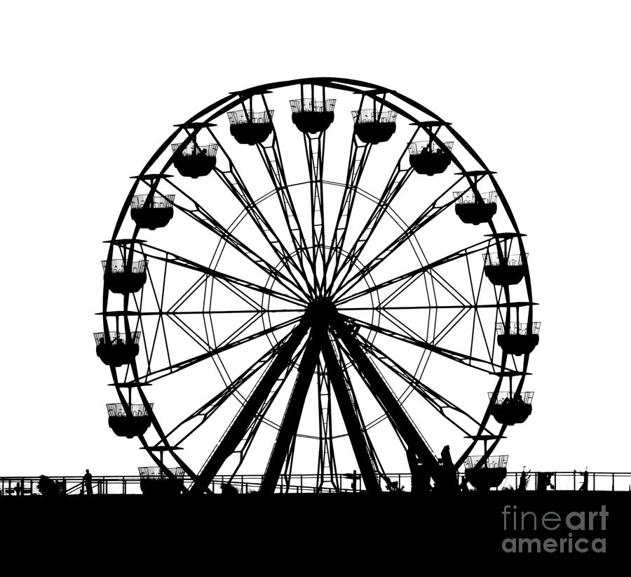 Ferris Wheel Drawing 3d Images amp Pictures Becuo