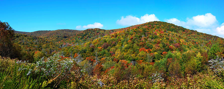 Over The Cherohala Skyway Photograph