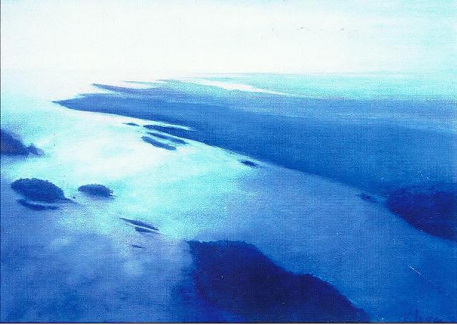 Over The Maine Islands Pastel