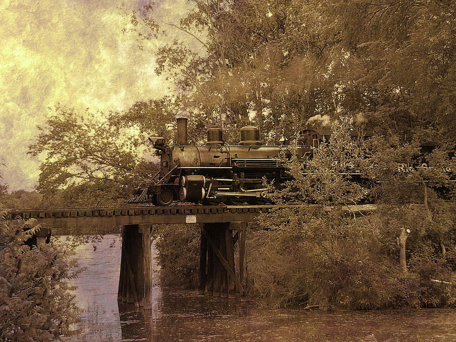 Over The River Photograph  - Over The River Fine Art Print