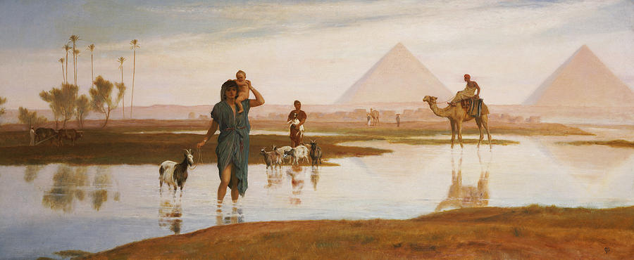 Overflow Of The Nile Painting