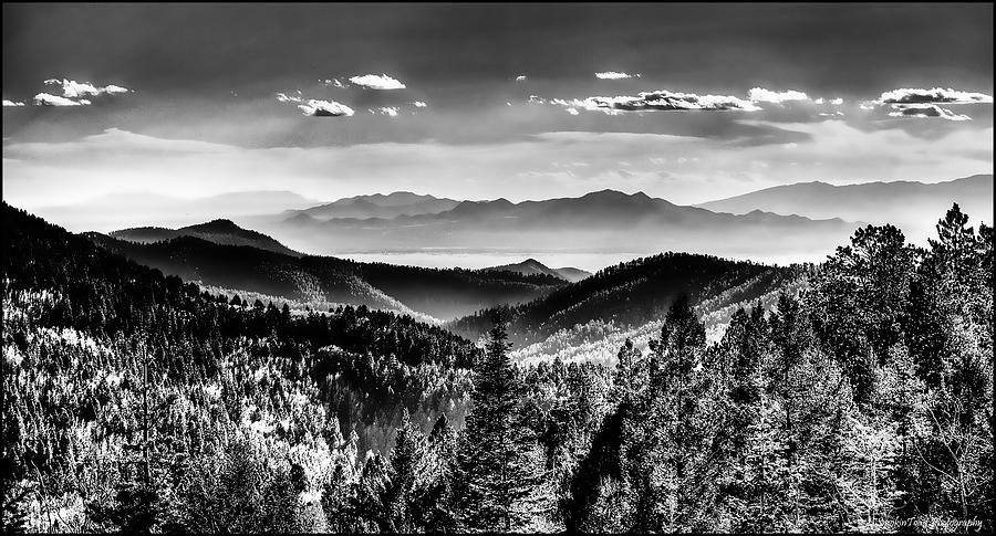 Overlooking The Southwest Digital Art  - Overlooking The Southwest Fine Art Print