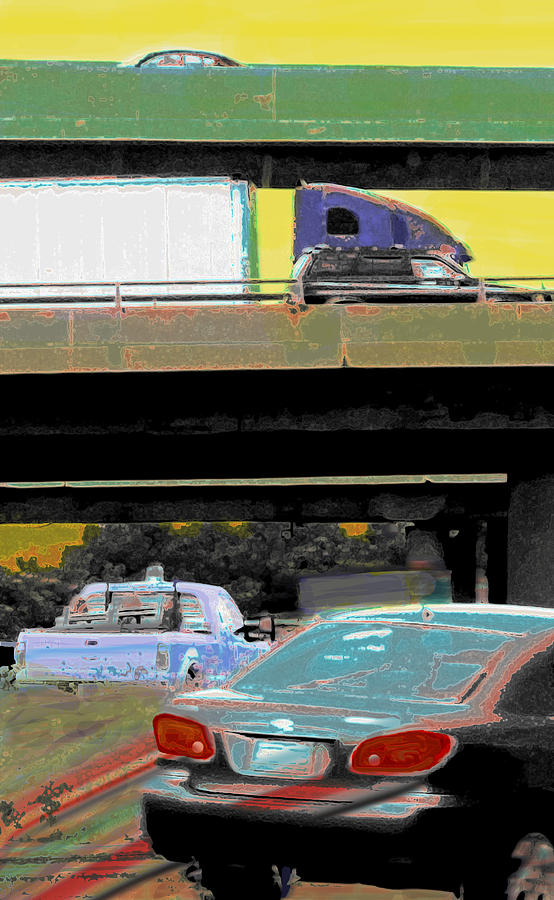 Overpass Photograph  - Overpass Fine Art Print