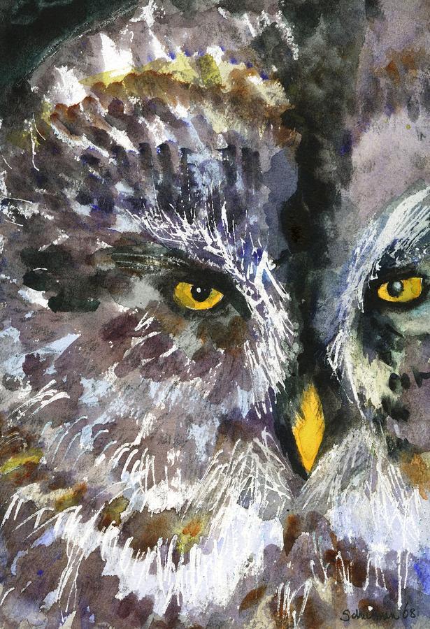 Owl Eyes Paintings Back to Miriam Schulma...