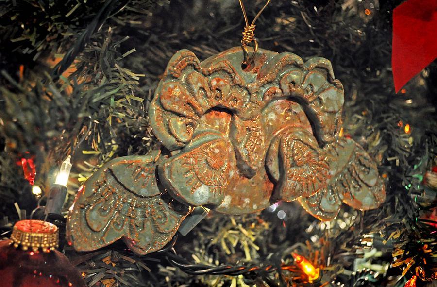 Owl Ceramic Art - Owl Handmade Pottery Ornament by Amanda  Sanford
