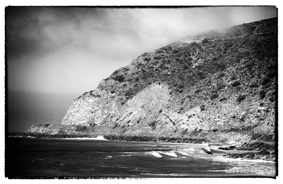 Pacific Coast Highway View Photograph  - Pacific Coast Highway View Fine Art Print