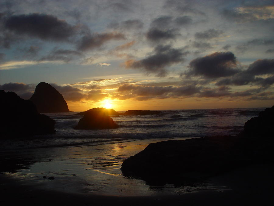 Pacific Sunset 1 Photograph