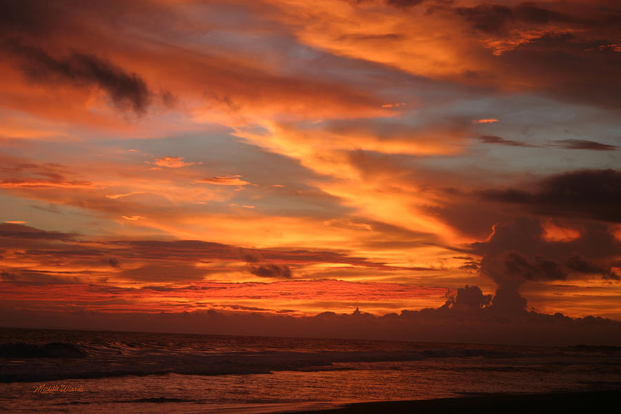Pacific Sunset Costa Rica Photograph